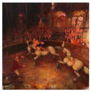 Circo Equestre 2 - Acrilici su Tela cm 90x90