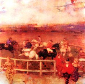 Il tondino Acrilici su Tela cm 30x30