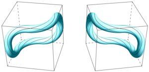 Loop toroidal-spherical with mirror image